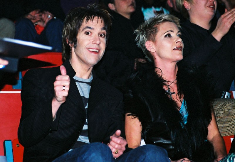 Roxette at the NRJ award show 2002.