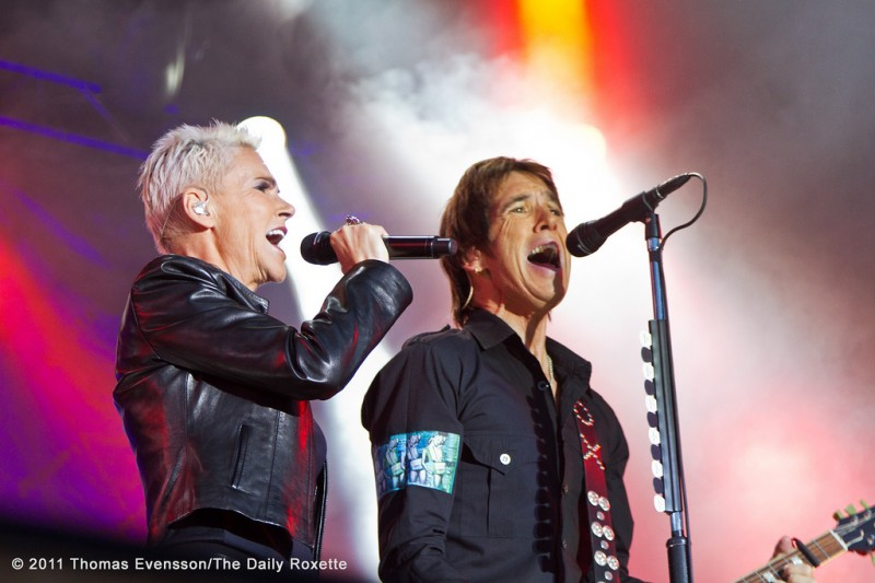 Roxette in Gothenburg July 24, 2011.