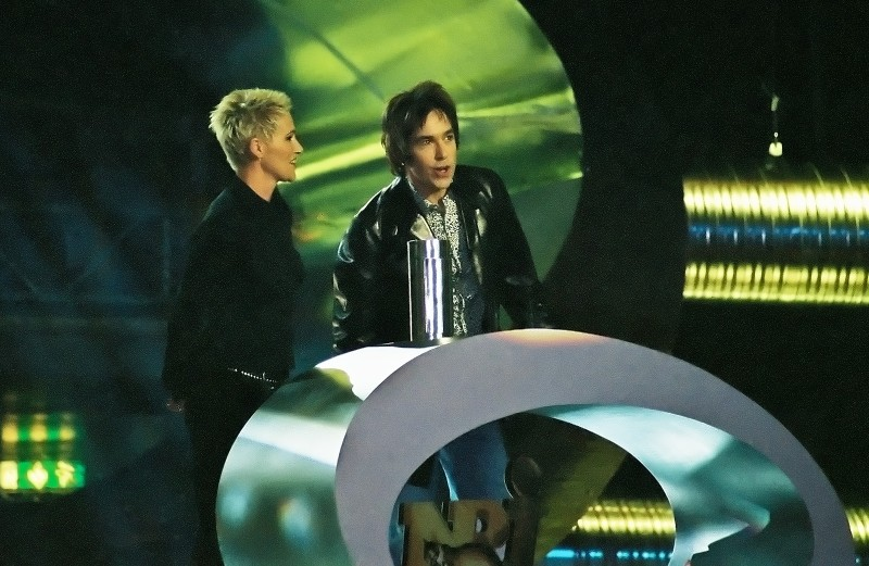 Roxette at the NRJ Awards show 2002.